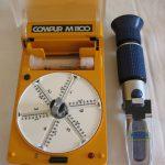 Hämatokritzentrifuge und Refraktometer